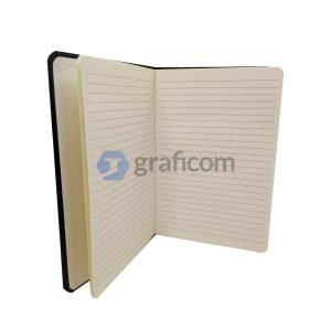 Cuaderno Corporativo Empresarial Con Logo Y Banda Elástica