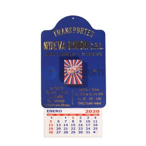 Almanaque Peuser Con Taco Grabado A Fuego Personalizado